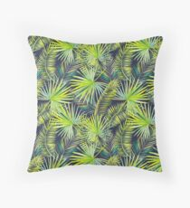Palm Leaves #2 Throw Pillow