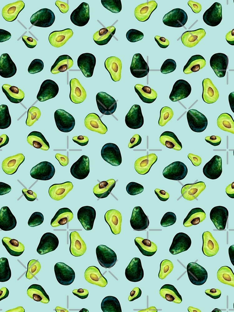 Avocado Pattern by BekkaCampbell