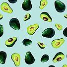 Avocado-Muster von BekkaCampbell