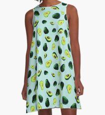 Avocado Pattern A-Line Dress