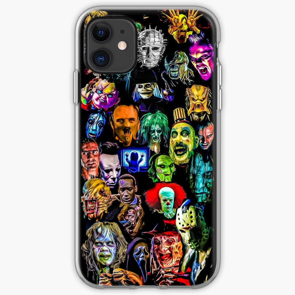 horror collection  iPhone Case & Cover