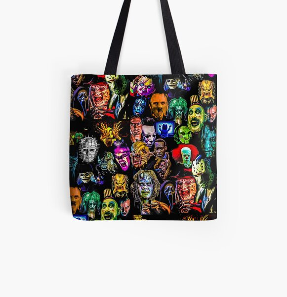 horror collection  All Over Print Tote Bag