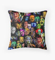 horror collection  Throw Pillow