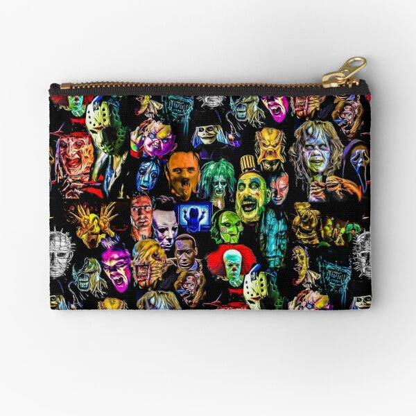 horror collection  Zipper Pouch