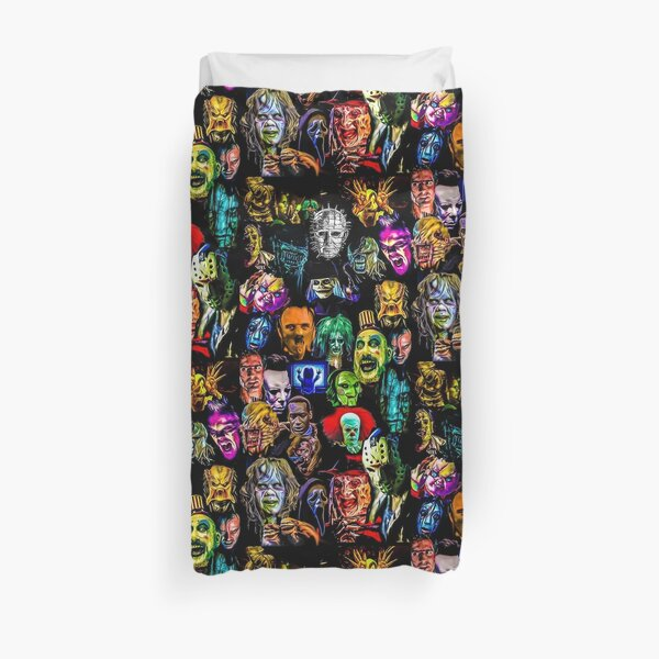 horror collection  Duvet Cover