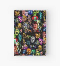Cuaderno de tapa dura colección de terror