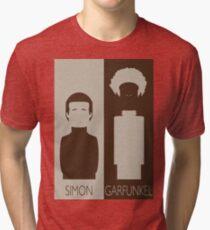 Simon and Garfunkel Tri-blend T-Shirt