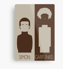 Simon and Garfunkel Metal Print