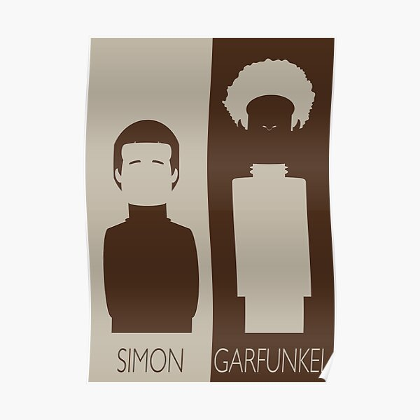 Simon y Garfunkel Póster