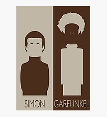 Simon and Garfunkel Photographic Print
