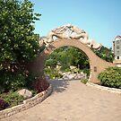 A Garden Gate  by wolftinz