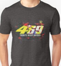 Valentino Rossi Tribute To Nicky Hayden T-Shirt