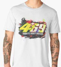 Valentino Rossi Tribute To Nicky Hayden Men's Premium T-Shirt