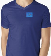 Being Watched Men's V-Neck T-Shirt