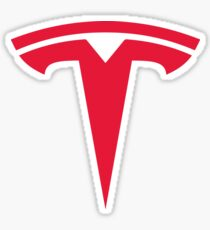 TESLA STICKER Sticker