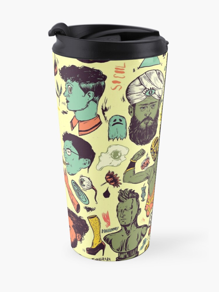 Alternate view of Things Travel Mug