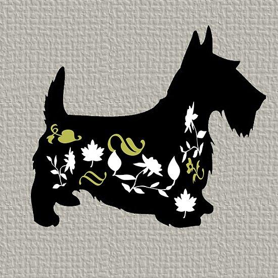 Beautiful Cushions/ Lucky Dog|Scotty Mcflowers by ozcushionstoo