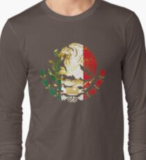 Golden Mexican Coat Of Arms T-Shirt