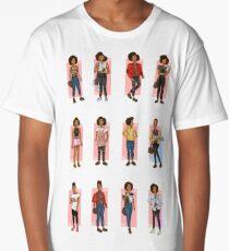 Bill Potts Outfits - The Pilot Long T-Shirt