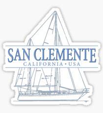 San Clemente California Sticker