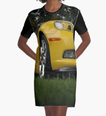 c6 corvette Graphic T-Shirt Dress