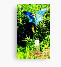 Uncommon Blue Canvas Print