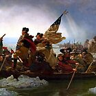 Washington Crossing The Delaware River by Igor Drondin