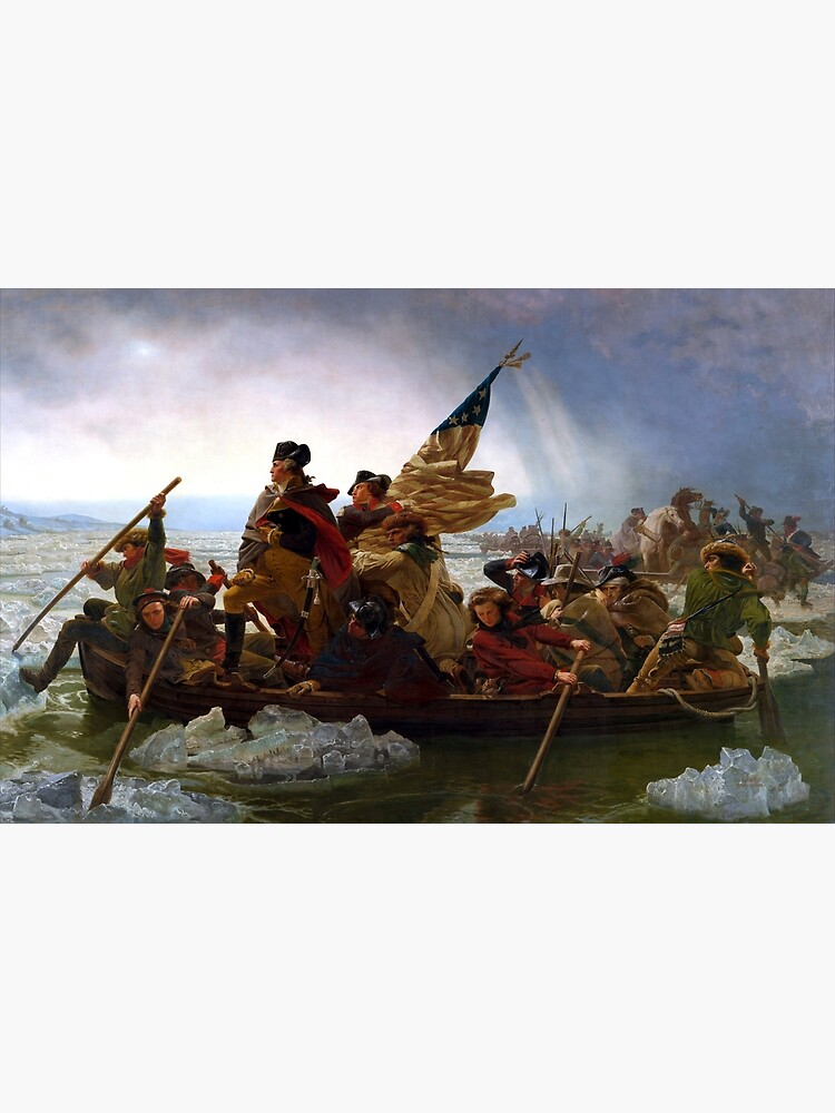 Washington Crossing The Delaware River by Goshadron