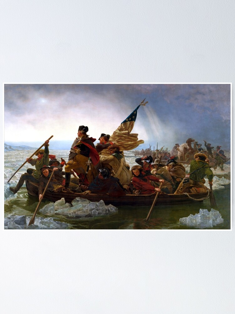 Alternate view of Washington Crossing The Delaware River Poster