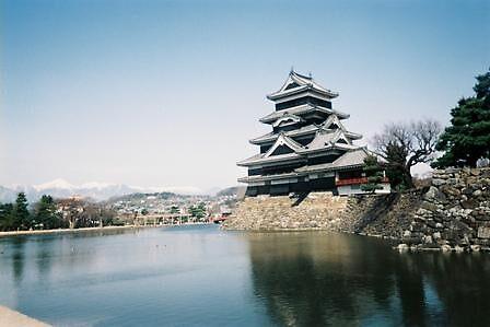 Matsumoto Castle view 2 by satsumagirl
