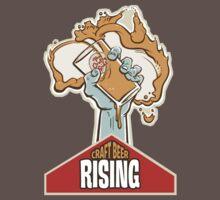 Craft Beer Rising T-Shirt | Unisex T-Shirt