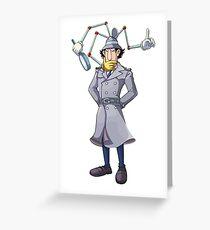 Inspector Gadget Greeting Card