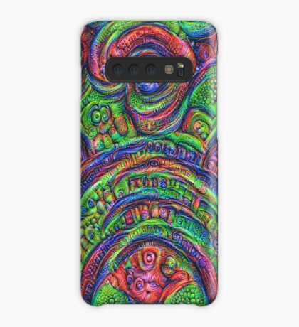 Green #DeepDream Case/Skin for Samsung Galaxy