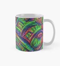 Green #DeepDream Classic Mug