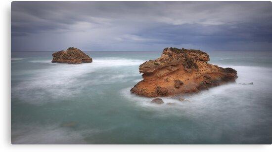 Crocodile Rock - Sorrento by Jim Worrall
