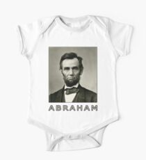 Abraham Lincoln One Piece - Short Sleeve