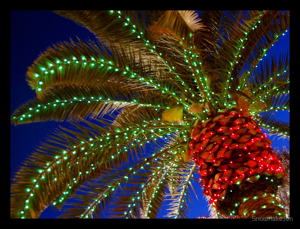 Desert Christmas Tree by SnowflakeJen