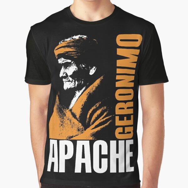 GERONIMO-APACHE Graphic T-Shirt