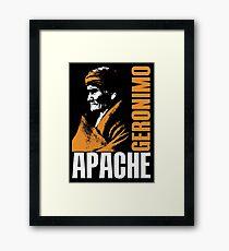 GERONIMO-APACHE Framed Print