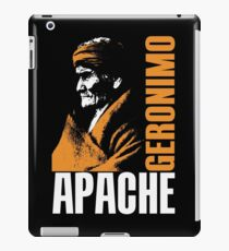 GERONIMO-APACHE iPad Case/Skin