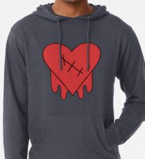 Gravity Falls - Robbie Vs Edgy on Purpose Herz Leichter Hoodie