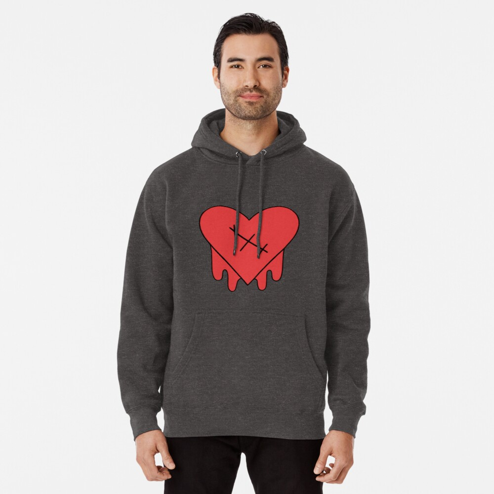 Gravity Falls - Robbie V's Edgy on Purpose heart Pullover Hoodie