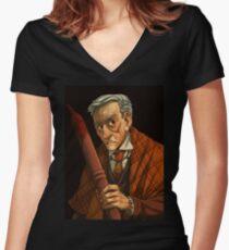 Peter Vincent, Vampire Killer Women's Fitted V-Neck T-Shirt