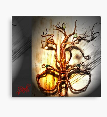 Copper Mask (Mother tree) Canvas Print