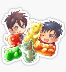 GUMMY BEARS - JR.&Milo [YOI Lovechildren au] Sticker