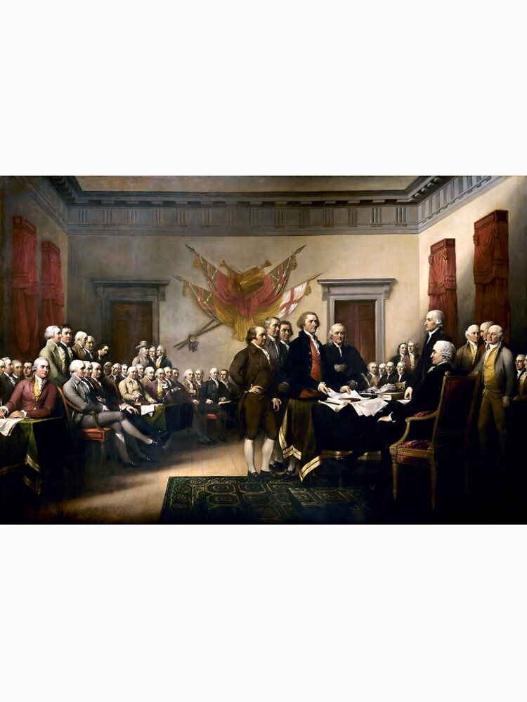 Signing The Declaration Of Independence by Goshadron