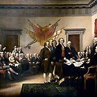 Unterzeichnung der Unabhängigkeitserklärung von Igor Drondin