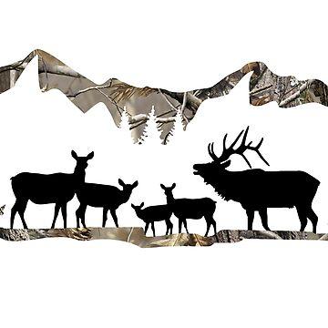 Paisaje de Elk de Zboydston17