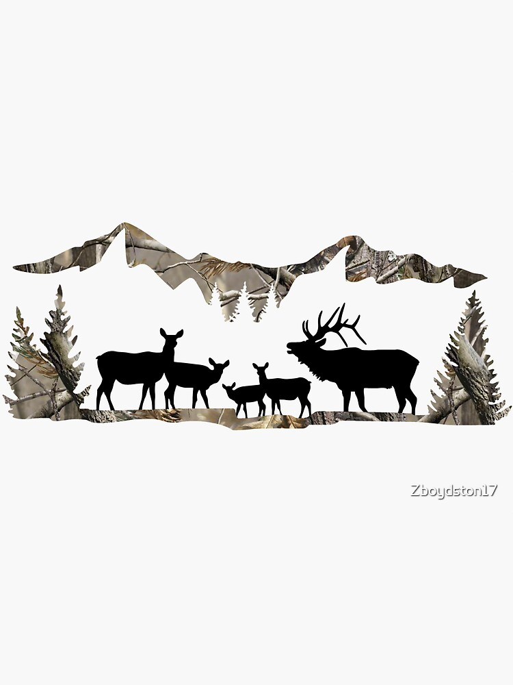 Elk Landscape by Zboydston17