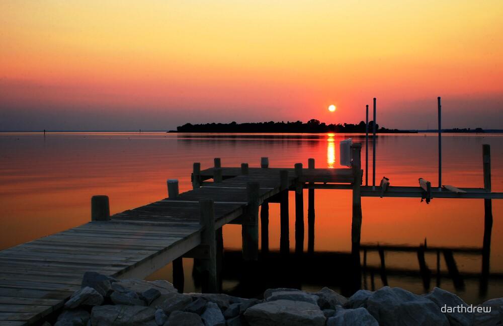 Potomac Sunset by darthdrew